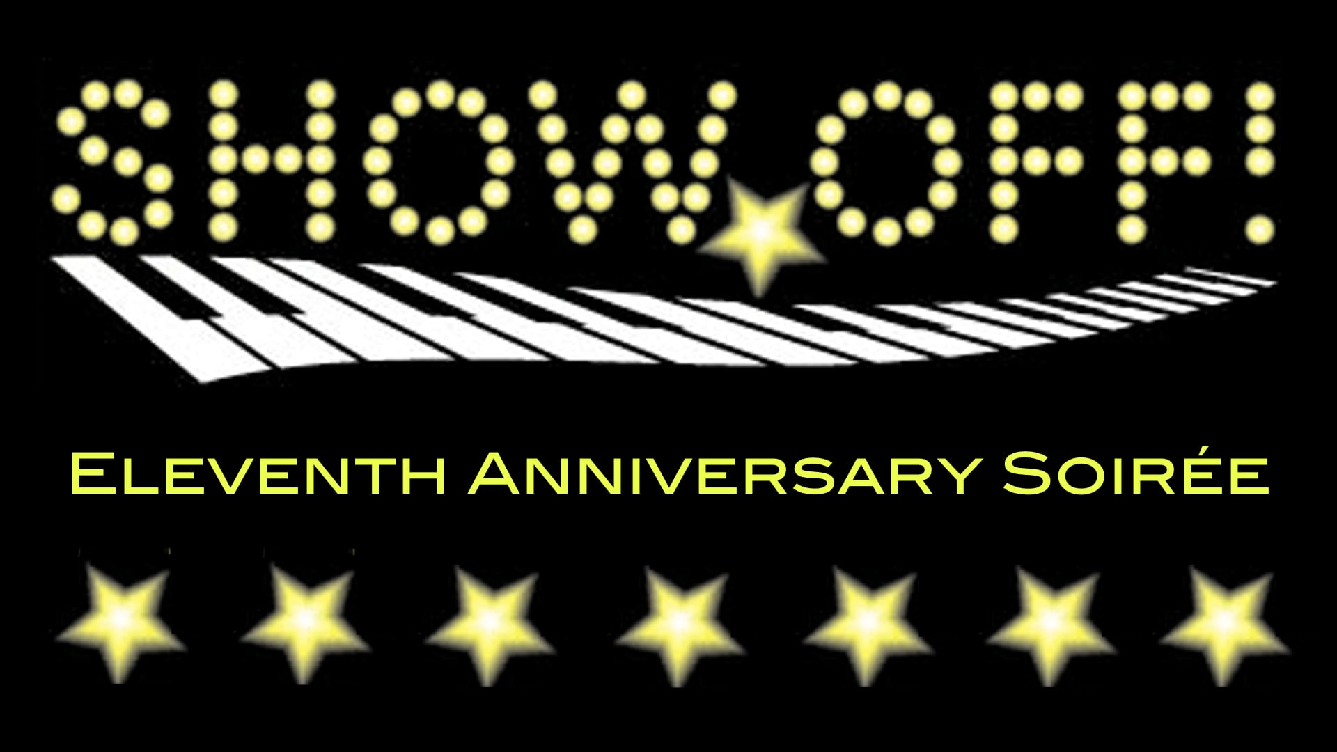 banner for the 11th anniversary event