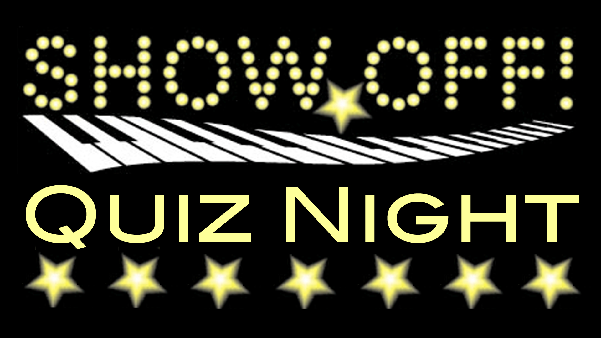 Banner for Show Off! Quiz nights